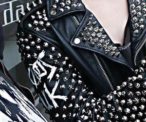 black, punk, and jacket image