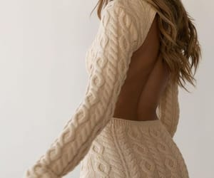 backless, beige, and chic image