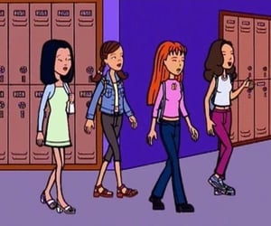 Daria, sick sad world, and high school image