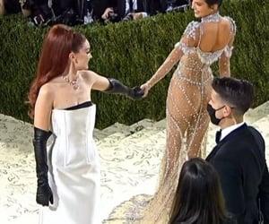 dress, friendship, and met gala 2021 image