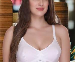 bra, padded bra, and cotton bra image
