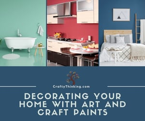 arts and crafts, home decorating ideas, and craftythinking image