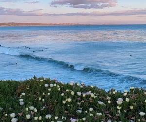 beautiful, landscape, and sea image