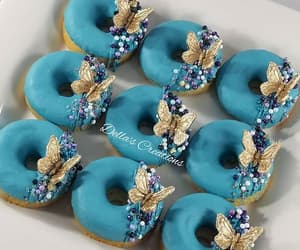 love, doughnuts, and eat image