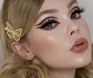 fashion, makeup, and moda image
