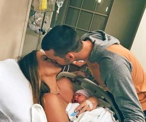 babies, couple, and hug image