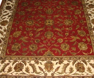 home decor, wool area rug, and silk flower rugs image