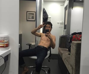 actor, behind the scenes, and Hot image