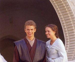 hayden christensen, natalie portman, and star wars image