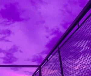 aesthetic, clouds, and purple clouds image