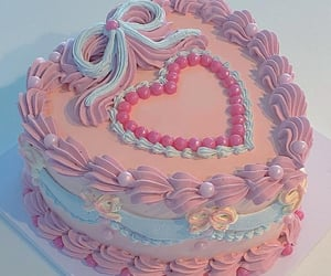 cakes, pastel, and love image