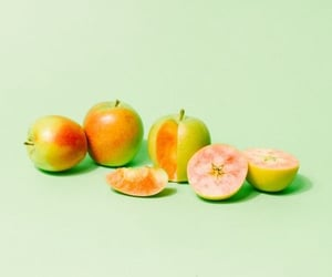 mint, apples, and fruit image