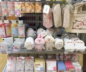 cartoon, seoul, and shopping image