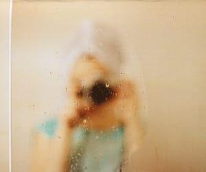 bathroom, water drops, and camera image