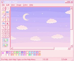 aesthetic, clouds, and computer image