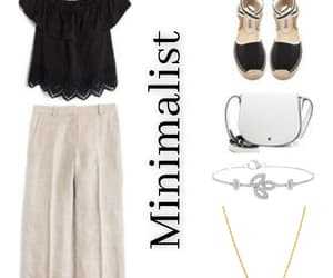 fashion, simple but chic, and minimalistic outfit image