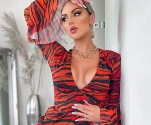 dress, elegant, and necklace image