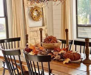 autumn, interior, and coziness image