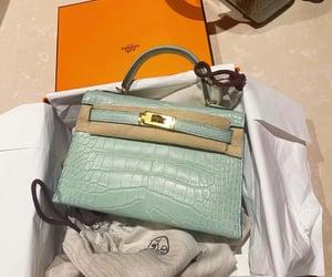 bag, hermes, and mint image