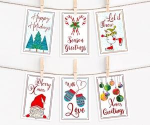 christmas tree, merry christmas, and christmas crafts image
