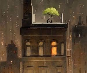 digital art and rain image