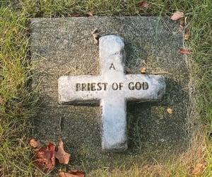 Catholic, catholicism, and cemetery image