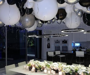 balloons and candles image