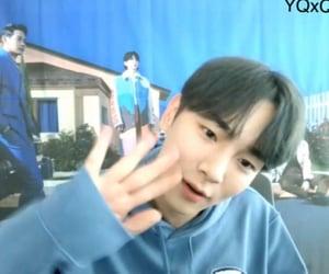 blue, Taemin, and call image