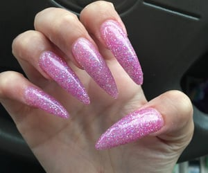 beauty, nails, and naildesign image