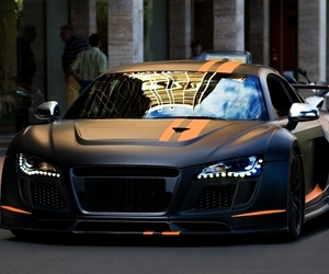 car, audi, and luxury image