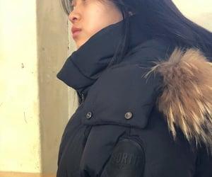 icon, korean girl, and lq image
