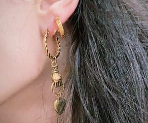 aesthetic, ear, and glam image