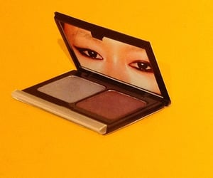 compact, cosmetics, and eyes image