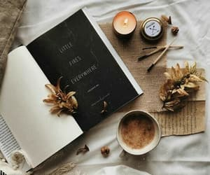 autumn and books image