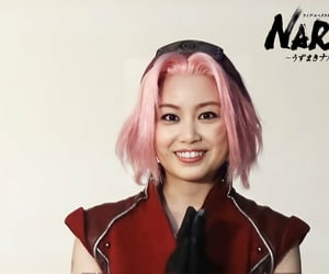 naruto, naruto live spectacle, and sakura image