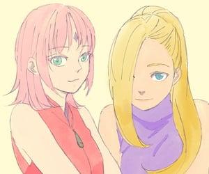 ino, naruto, and ino yamanaka image