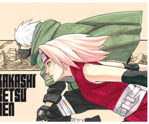 kakashi, sakura, and sakura haruno image