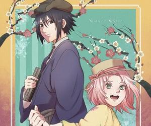 akatsuki, haruno sakura, and uchisaku image