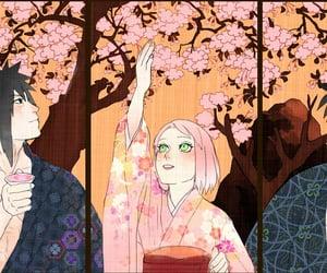 akatsuki, madara, and haruno sakura image