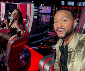 john legend, reality, and the voice image
