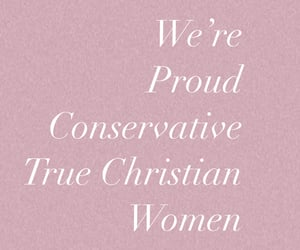 conservative and born again christian image