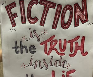 lie, books, and fiction image