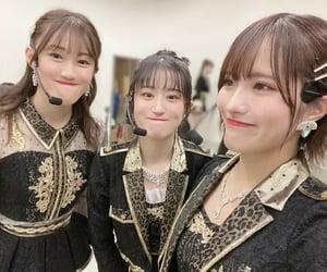 nmb48, jonishi rei, and kojima karin image
