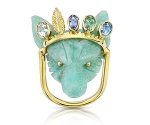 bijoux, rings, and chalcedony image