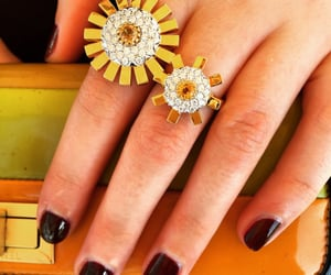 bijoux, rings, and sunray image
