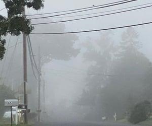 aesthetic, dark, and fog image