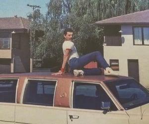 Freddie Mercury, new york, and old school image