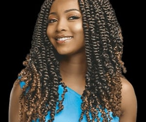 box braids, senegalese twists, and passion twists image