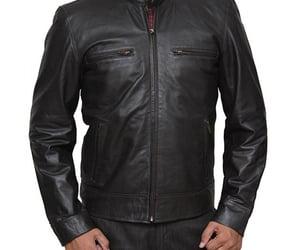 fashion and leather jacket image