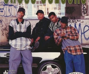 Dr Dre, snoop dogg, and magazine photoshoot image